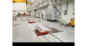 轨道平板车控制箱采用钢板制作